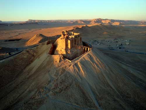 Le castel de Palmyre.