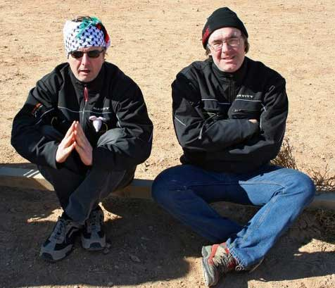 Jean-Mi et Dan en pleine forme.....