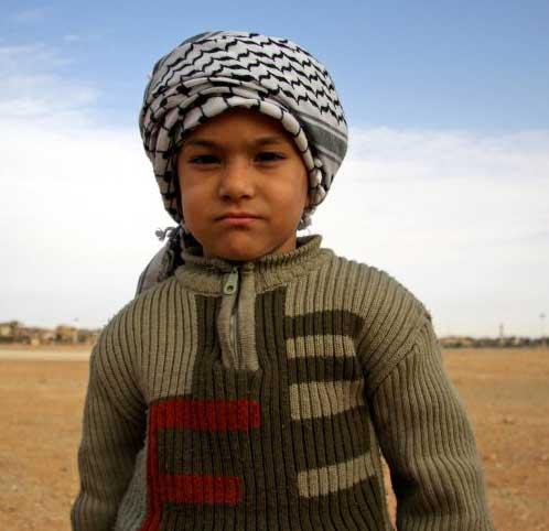 Le désert est peuplé d'enfants attachants...