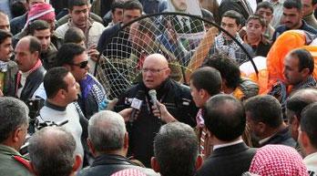 Interview politique et sportive....